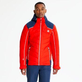 Veste de ski technique matelassée Homme MAXIM Rouge