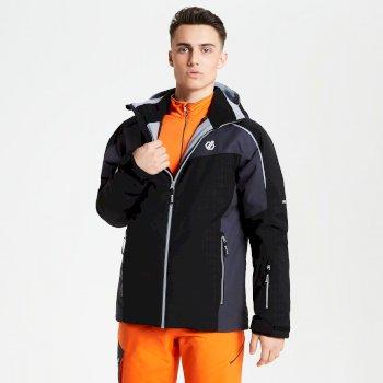 Veste de ski technique Homme INTERMIT Noir