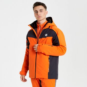 Veste de ski technique Homme INTERMIT Orange