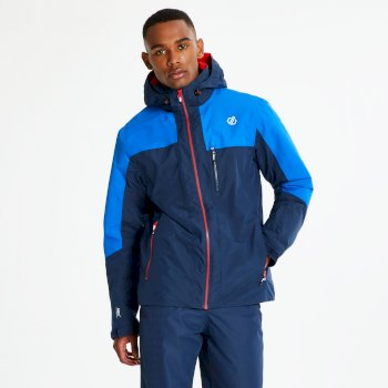Men's No Limits Ski Jacket Admiral Oxford Blue