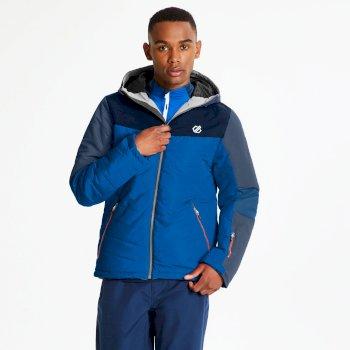 Veste de ski technique matelassée Homme DOMAIN Bleu