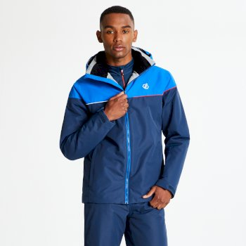 Men's Cohere Ski Jacket Admiral Oxford Blue
