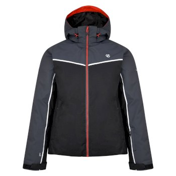 Men's Expanse Ski Jacket Ebony Black
