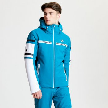Men's Outshout Black Label Ski Jacket Ocean Depths