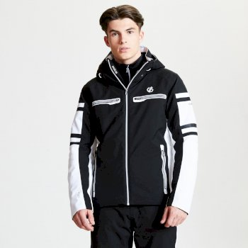 Veste de ski technique Homme OUTSHOOT collection Black Label Noir