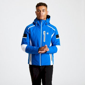 Veste de ski technique Homme EDGE collection Black Label Bleu