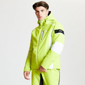 Veste de ski technique Homme EDGE collection Black Label Vert