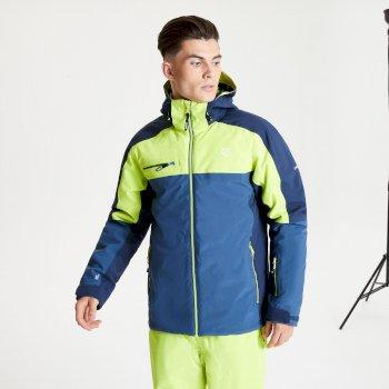 Men's Intermit II Waterproof Insulated Hooded Ski Jacket Dark Denim Nightfall Navy