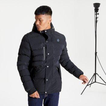 Veste à capuche Homme imperméable et isolante ENDLESS Noir