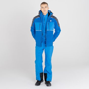 Men's Pivotal Waterproof Ski Jacket Lapis Blue Athletic Blue