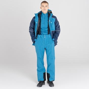 Men's Catch On Waterproof Ski Jacket Nighfall Navy Dark Methyl Blue