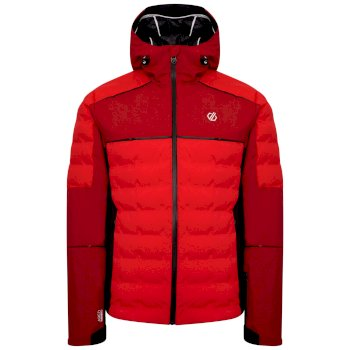 Men's Expounder II Waterproof Insulated Ski Jacket Chinese Red Chilli Pepper Red