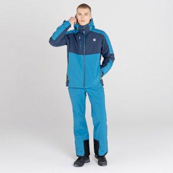 Veste de ski imperméable Homme INTERMIT III Bleu