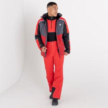 Veste de ski imperméable Homme INTERMIT III Rouge