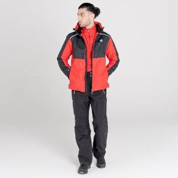 Veste de ski imperméable Homme OBSERVE II Noir