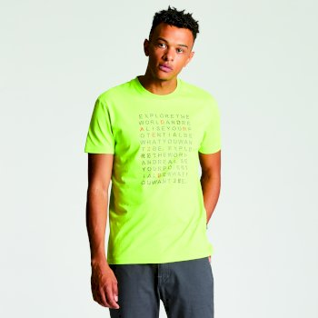 Men's Verses T-Shirt Lime Punch