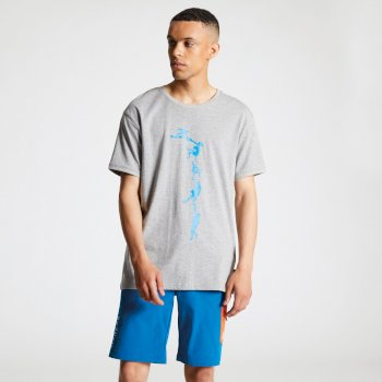 Men's Alarm Graphic T-Shirt Ash