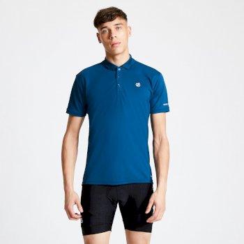 Polo Homme léger DELINEATE Bleu