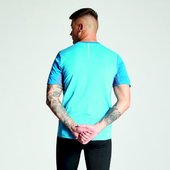 Men's Equall Cycle Jersey Atlantic Blue