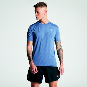 Men's Enjoin Sweat Wicking T-Shirt Meteor Grey