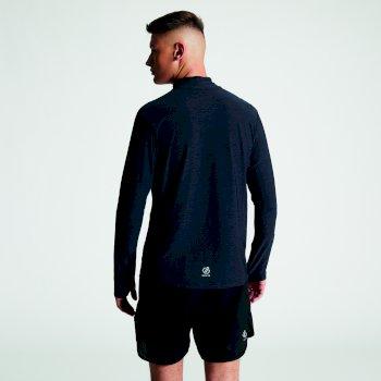 T-shirt technique Homme manches longues léger et respirant REACTICATE Noir