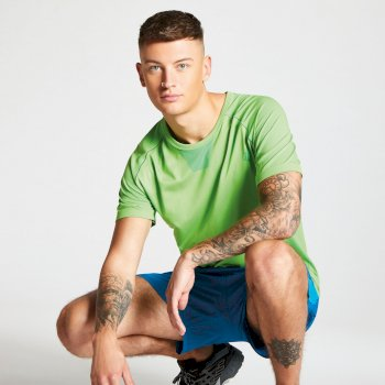 Men's Vessel Seamless T-Shirt Jasmine Green