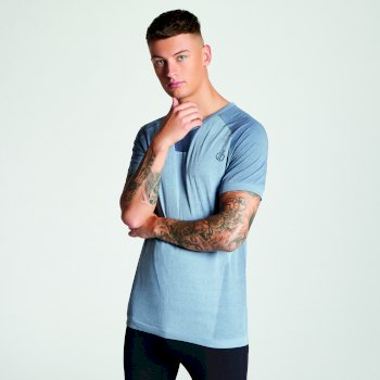 Men's Vessel Seamless T-Shirt Gravity Grey