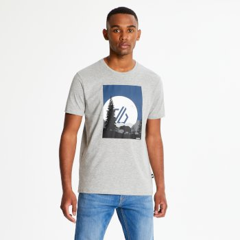 Men's Strife Graphic Print T-Shirt Ash Marl