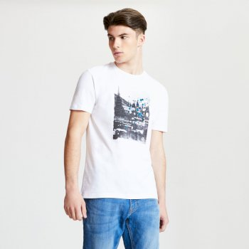 Men's Strife Graphic Print T-Shirt White