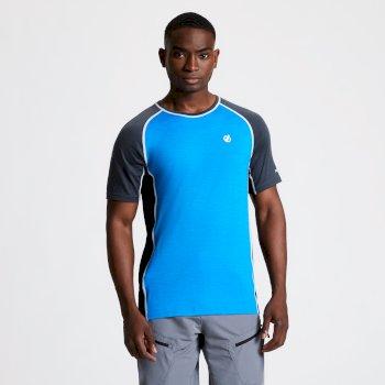 T-shirt en laine Homme CONFLUX Bleu