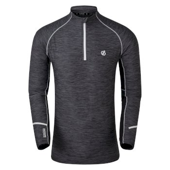 Men's Reacticate II Half Zip Cycling Jersey Black Black