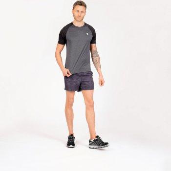 Men's Peerless T-Shirt Ebony Grey Black