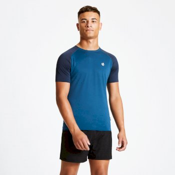 T-shirt Homme PEERLESS  Bleu