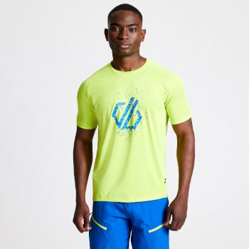 Men's Righteous II Graphic T-Shirt Lime Punch