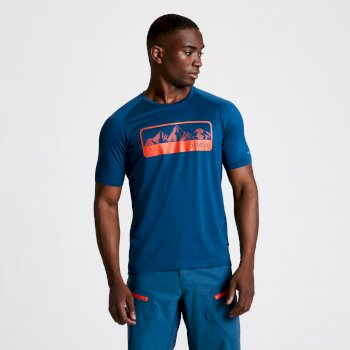 Men's Righteous II Graphic T-Shirt Majolica Blue