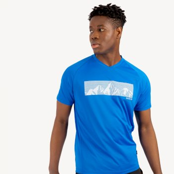 Men's Righteous II Graphic T-Shirt Athletic Blue