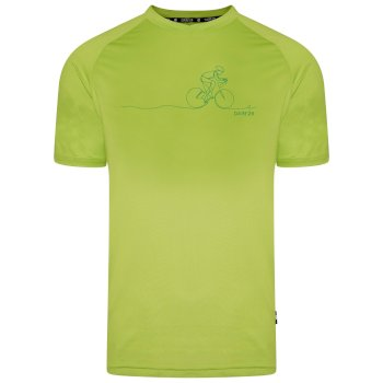 Men's Righteous II Graphic T-Shirt Lime Green