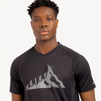 Men's Righteous II Graphic T-Shirt Black
