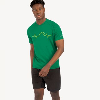 Men's Righteous II Graphic T-Shirt Jelly Bean Green