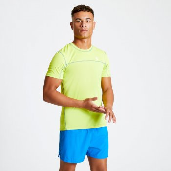 Men's Notable Lightweight T-Shirt Lime Punch