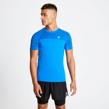 Men's Notable Lightweight T-Shirt Olympian Athletic Blue