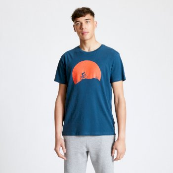 Men's Determine Graphic T-Shirt Majolica Blue