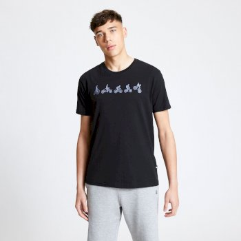 Men's Integrate Graphic T-Shirt Black