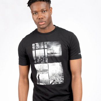 Men's Stringent Graphic T-Shirt Black