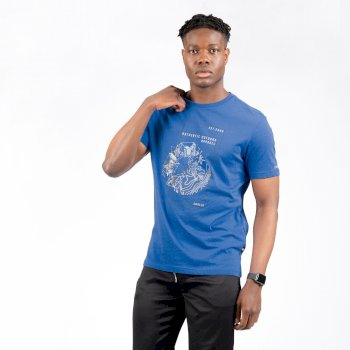 Men's Stringent Graphic T-Shirt Olympian Blue