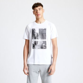 Men's Token Graphic T-Shirt White