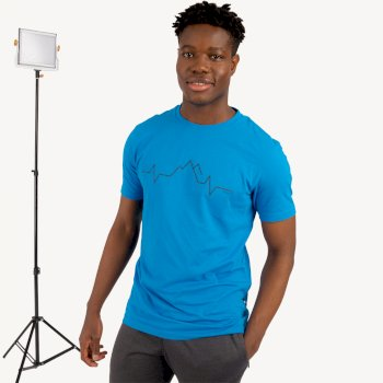 Men's Differentiate Graphic T-Shirt Methyl Blue