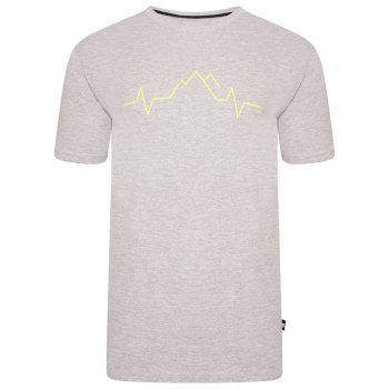 The Jenson Button Edit - Differentiate Graphic T-Shirt Ash Grey