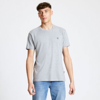 Men's Devout T-Shirt Ash Grey
