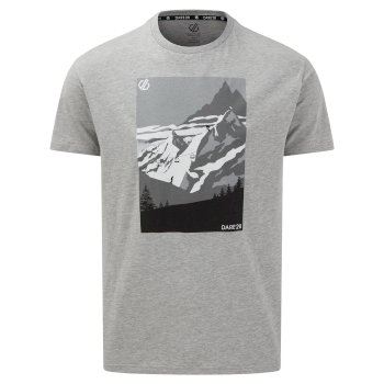 The Jenson Button Edit - Devout II Graphic T-Shirt Ash Grey